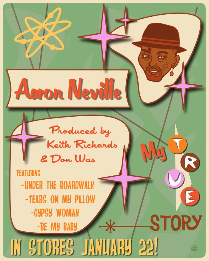 Aaron Neville PosterPNG