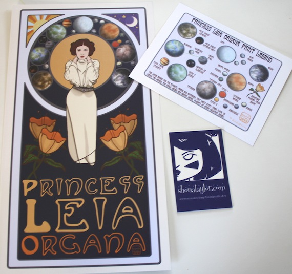 Leia Prints Shop Photo