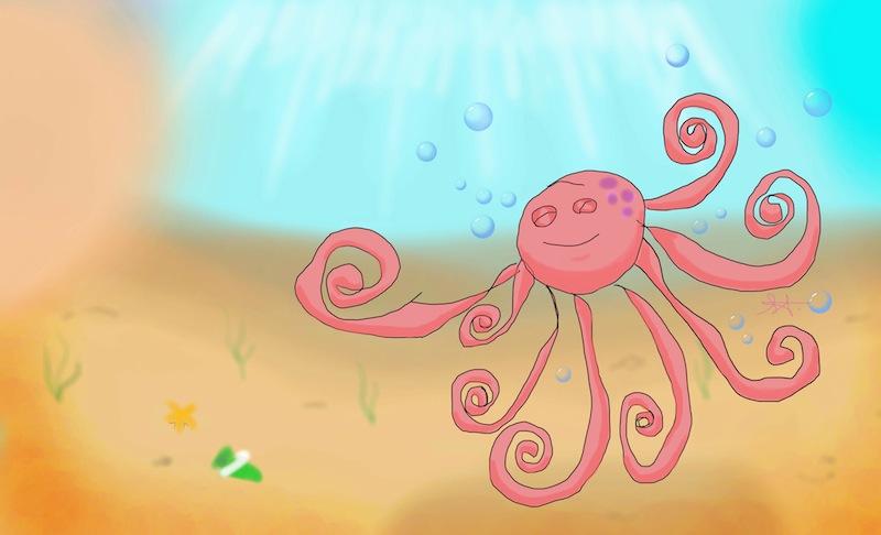Alex's Octopus © Alex Taylor & Shona Taylor 2013