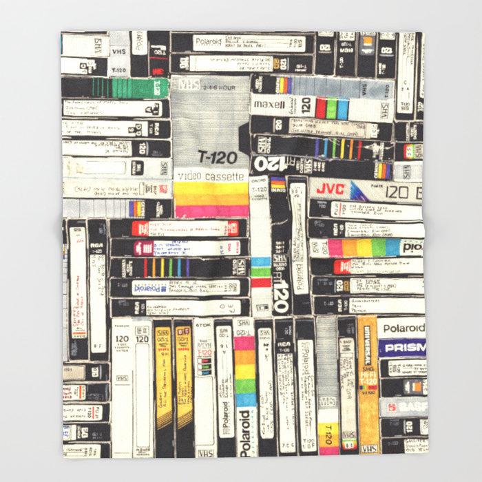 the ubiquitous VHS collection